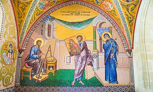 B_177_AFDC_Agios_Loukas_painting_the_icon_of_the_Virgin_Kykko_monastery_lrg